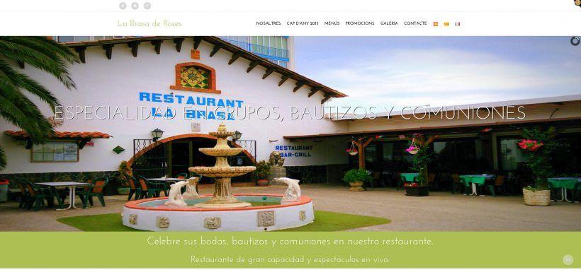 Restaurant La Brasa Web